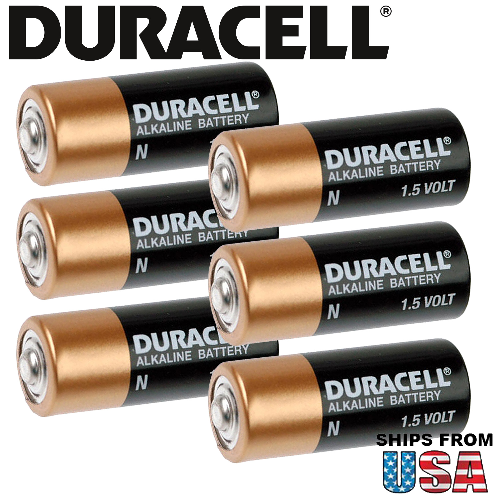 6x Duracell MN9100 Medical 1.5 Volt N Size Alkaline Battery FAST USA SHIP
