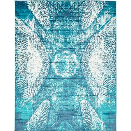 Bungalow Rose Ford Turquoise Area Rug