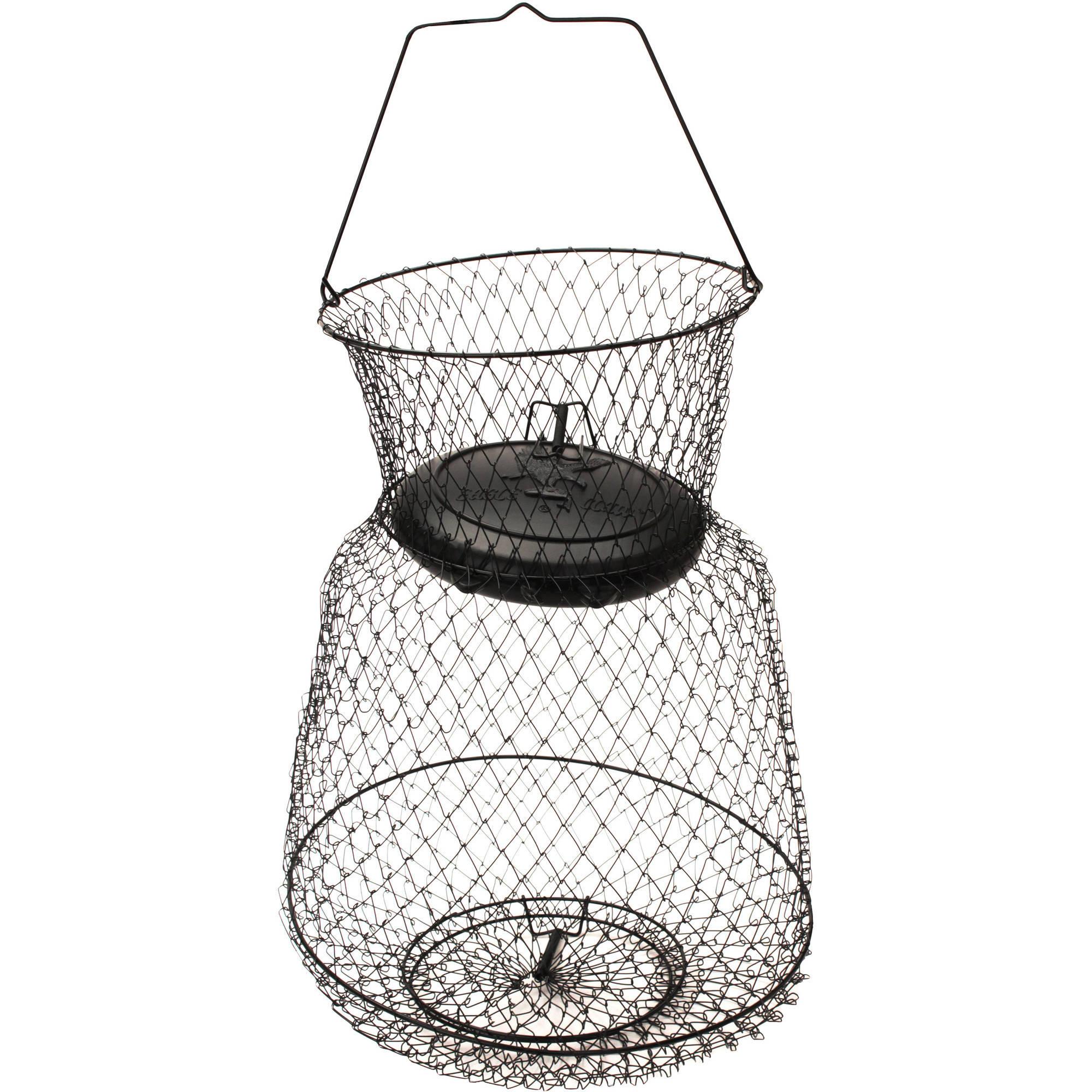 """Eagle Claw Fish Basket Floating, Wire, Medium, 13"""" x 18"""""""