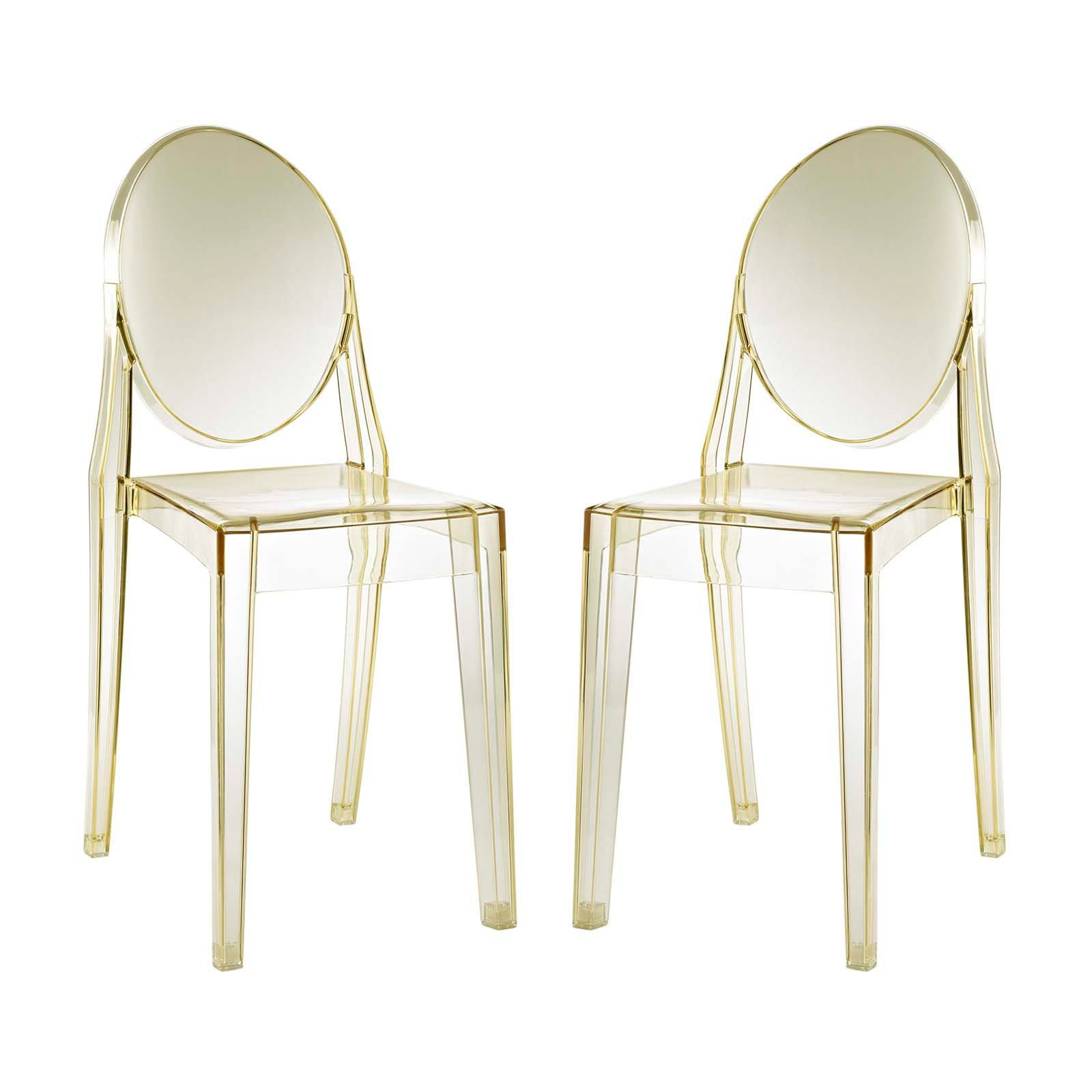 Modway Casper Dining Side Chairs, Set of 2, Multiple Colors