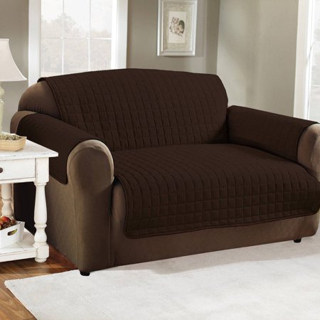 Quality Polyester Microfiber Quilted Furniture Protector Cover Chair Sofa Or Loveseat