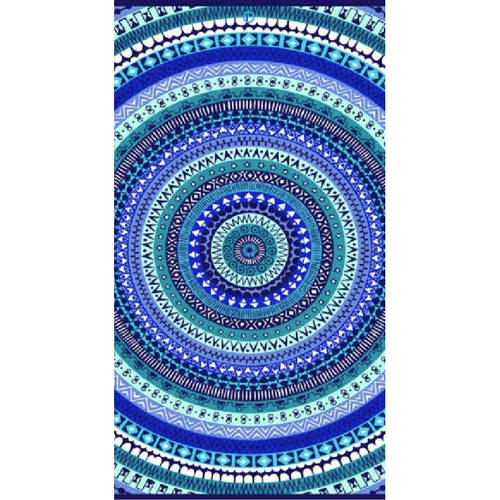Better Homes and Gardens global medallion beach towel, cool