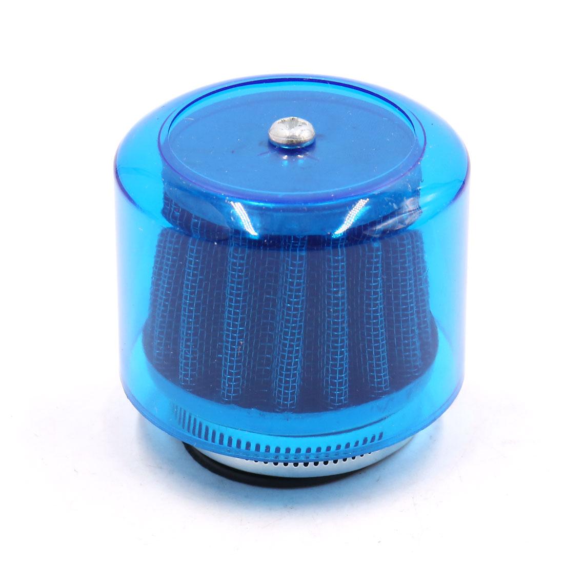 Blue Plastic Shell 39mm Inner Diameter Motorcycle Air Intake Filter for CG