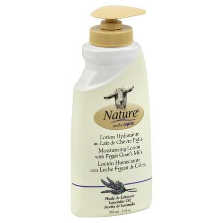 Nature By Canus Goats Milk Lotion, Lavender Oil, 11.8 Oz