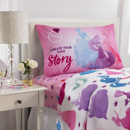 Disney Princess Ready to Explore Sheet Set, 1 Each