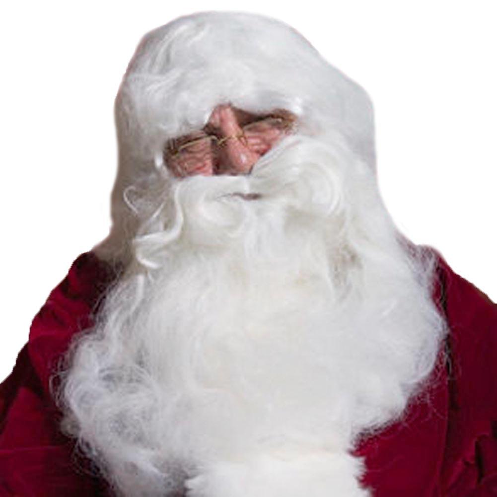 HALCO Deluxe Santa Wig  Beard Set