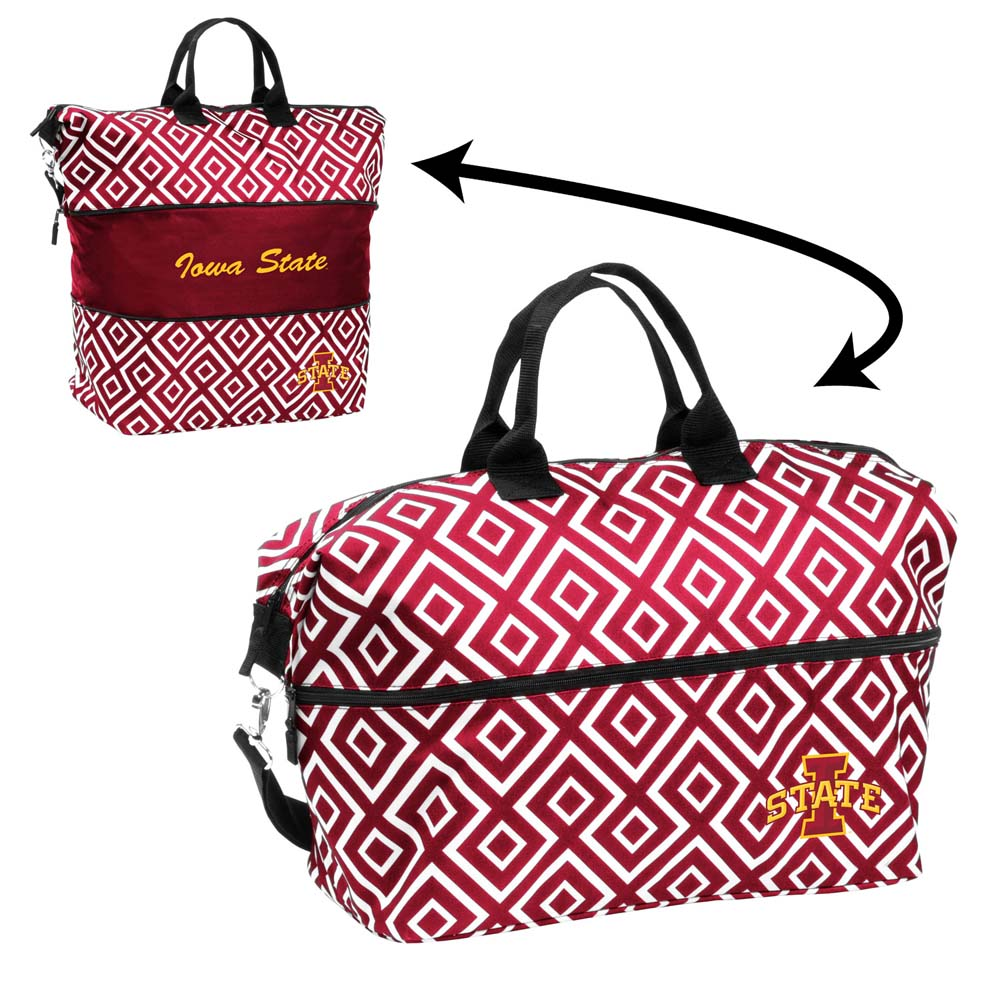 Iowa State Expandable Tote