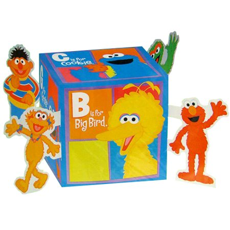 Sesame Street 'P is for Party' Centerpiece -