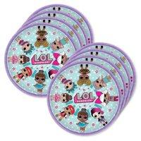 "LOL Surprise 9"" Lunch Plates (24)"