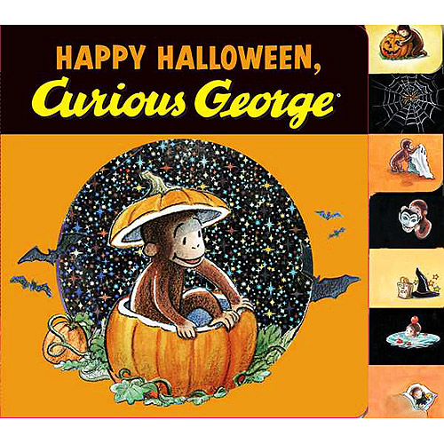 Happy Halloween, Curious George