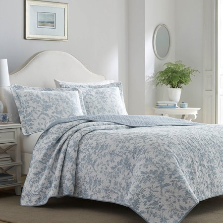 Laura Ashley Amberley Reversible Quilt Set
