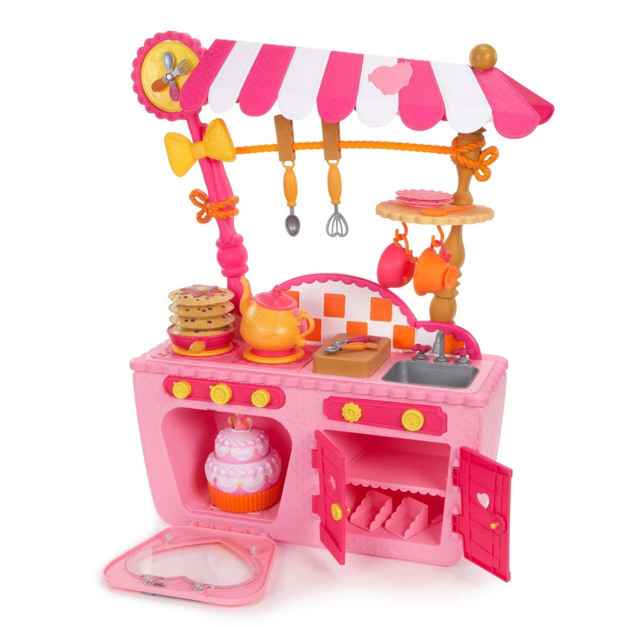 lalaloopsy magic play kitchen and cafe walmart