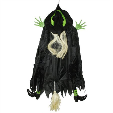 Northlight Seasonal Humorous Crashing Witch Hanging Halloween - Halloween Witches Decorations