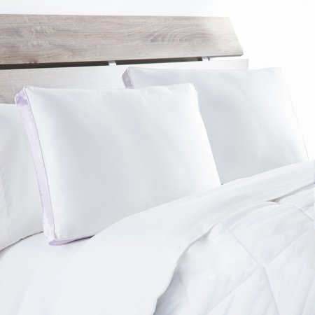 DOWNLITE XFirm 300 TC Side Sleeper Pillow (Set of 2) -White (Best Pillow For Shoulder Pain Side Sleeper)