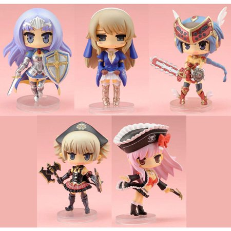 Queen's Blade Rebellion Mini Chibi PVC Figures (1 Random Blind Box)