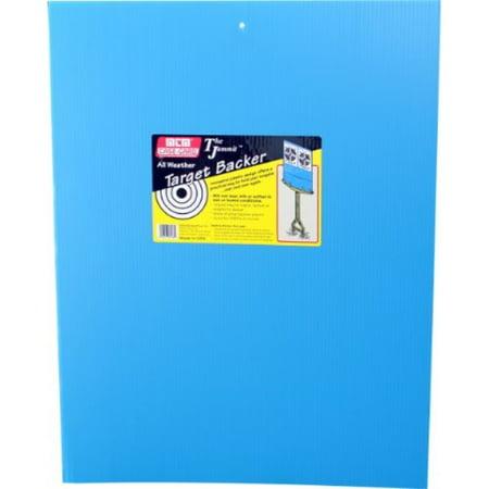 mtm tb-20 all weather target backer 17.5x23, blue