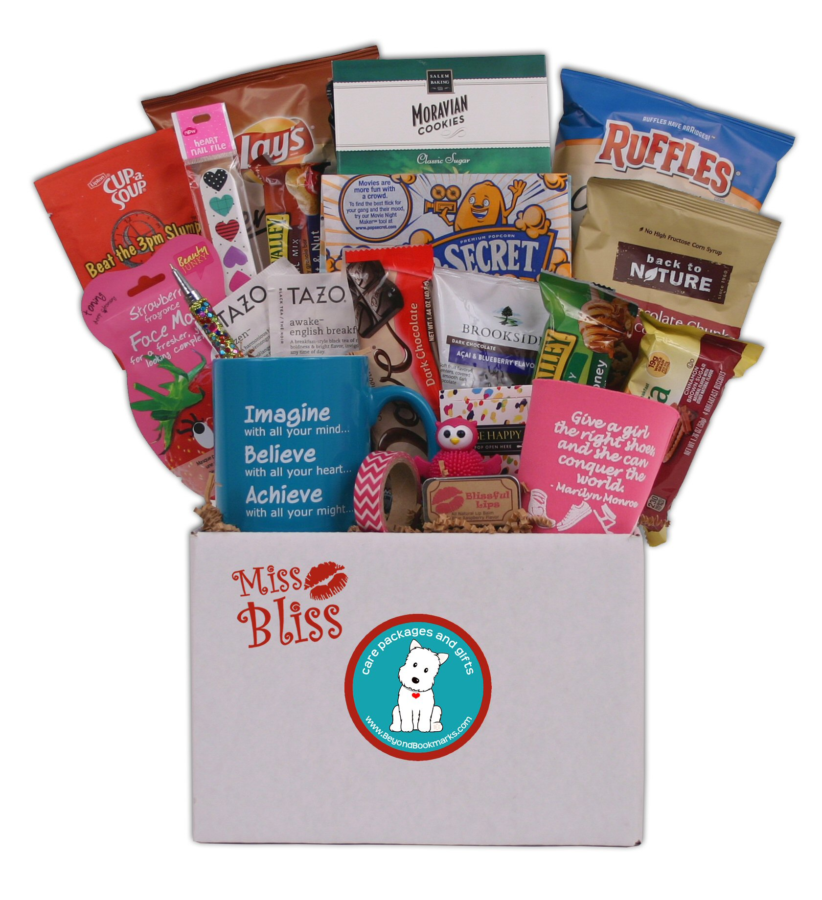 Miss Bliss College Care Package for Girls