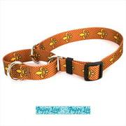 Yellow Dog Design M-PLB102M Puppy Love Blue Martingale Collar - Medium
