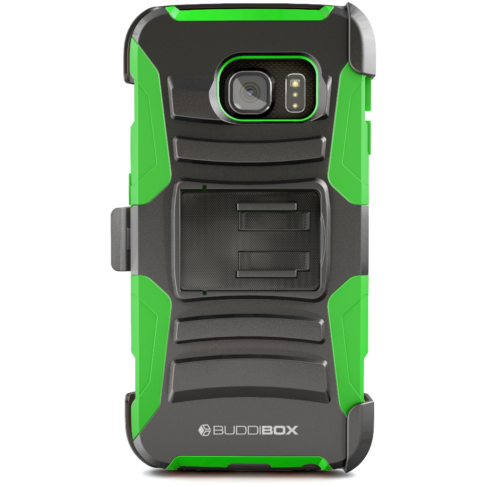 BUDDIBOX [HSERIES] Galaxy S6 EDGE Case Heavy Duty Durable Belt Clip Holster Protective Cover Case for Samsung Galaxy S6 EDGE