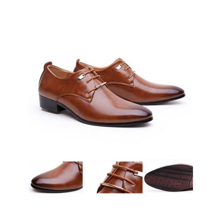 - Meigar Men Casual Oxfords Dress Shoes