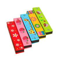 KABOER 1 PCS Children's Educational Toy Harmonica for Beginners