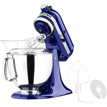 KitchenAid KSM150PSBU 5 Qt. Artisan Series Stand Mixer - Cobalt Blue