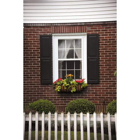 Awc exterior window shutters raised panel pair for Where to buy exterior window shutters