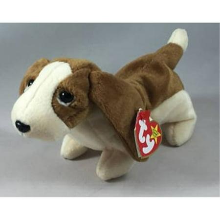 beanie babies ty, tracker the basset hound dog (Beanie Baby Dog Set)