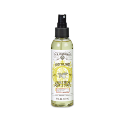 - J.R. Watkins Body Oil Mist, Lemon, 6 Oz Pump
