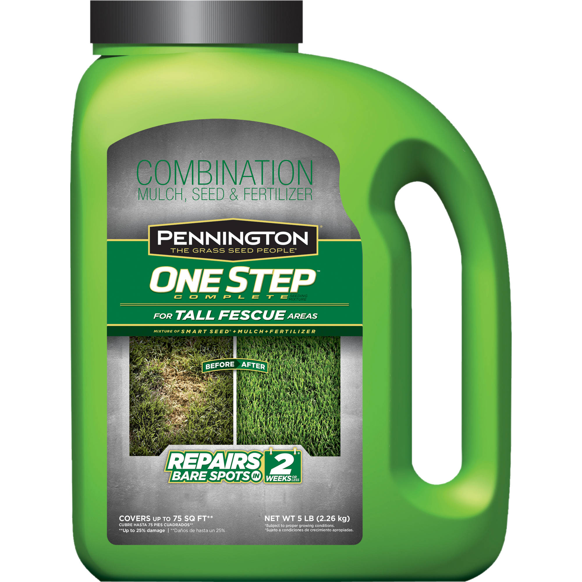 Image of Pennington 1-Step Complete Tall Fescue Grass Seed, 5 lbs