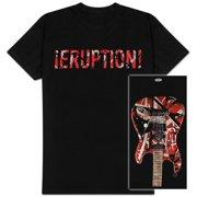Eddie Van Halen - Eruption Apparel T-Shirt - Black