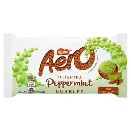 Nestle Aero Bubbles (Nestle Aero Mint Chocolate Bar - 36g )