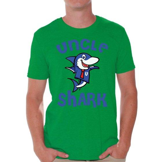Awkward Styles - Awkward Styles Uncle Shark Tshirt Shark