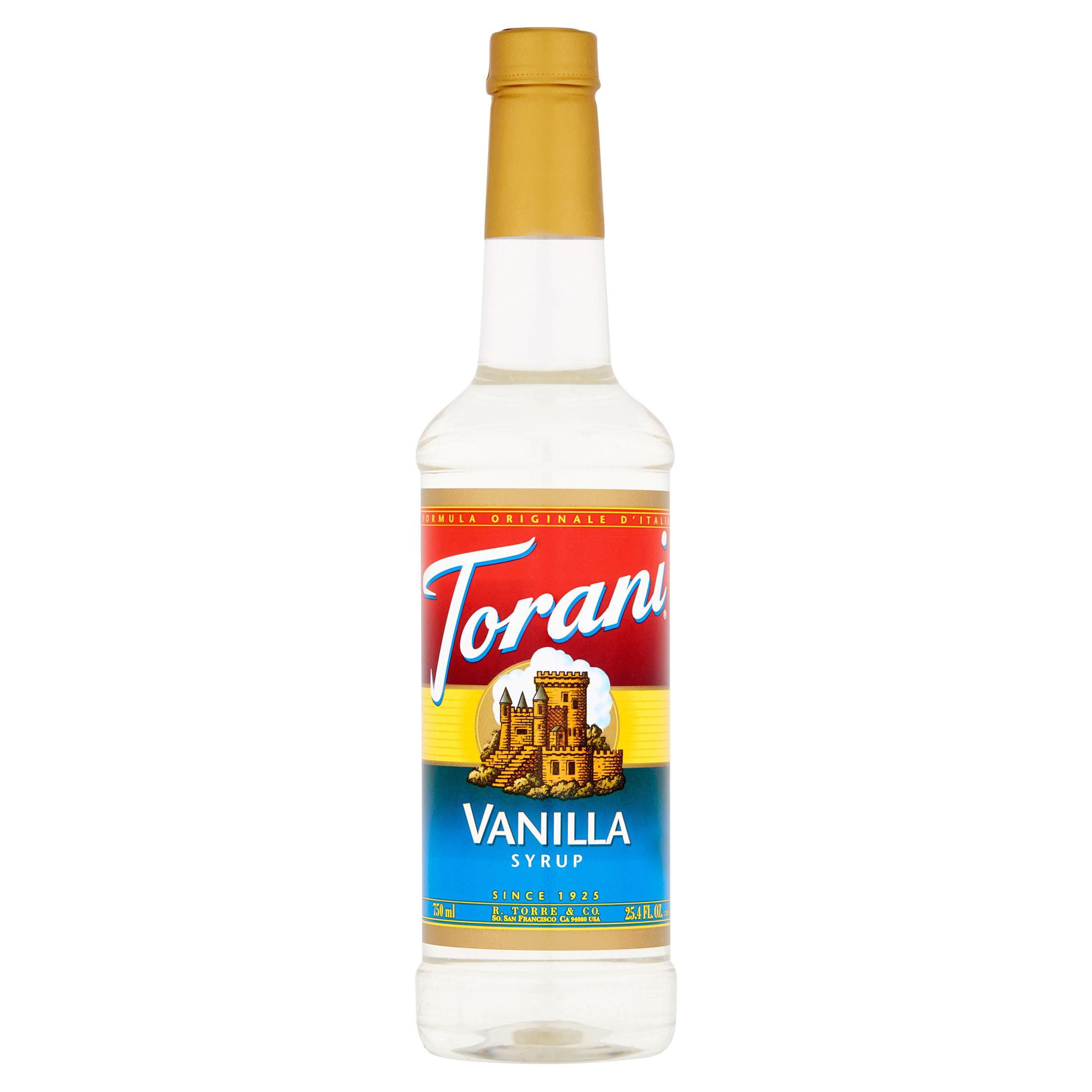 Torani Vanilla Syrup, 25.4 fl oz