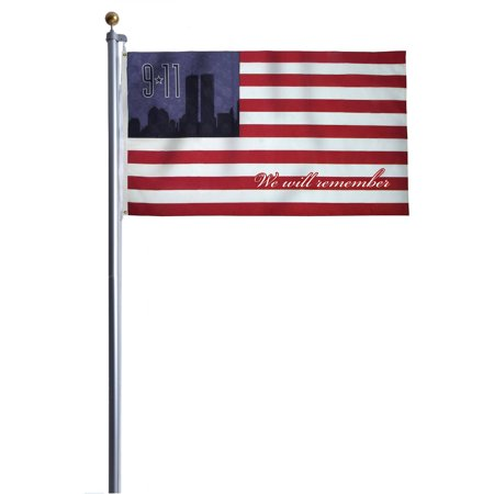 Heath Outdoor Products 20' Home Owner 9/11 Remembrance American Flag Kit Home Flag Kit