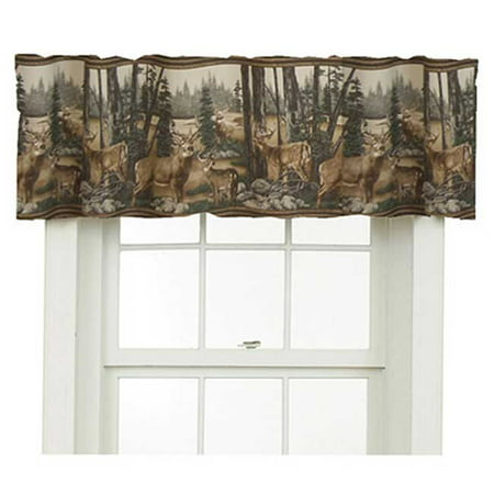 Whitetail Dreams Valance (Kimlor Drapes)