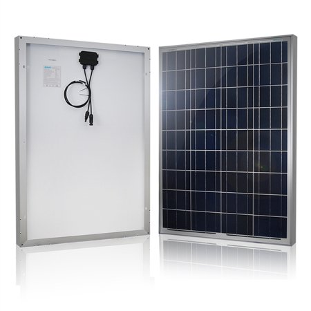 Solar Charging Panel - Renogy 100W 12V Solar Panel Polycrystalline Off Grid Battery Charging for RV/Boat/Cabin Applications