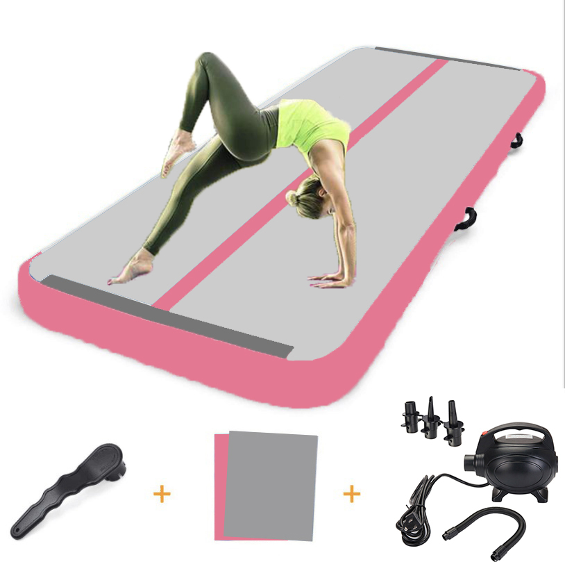 Details about  /Airtrack Air Track Floor Inflatable Gymnastics Tumbling Mat GYM w// Pump 13FT