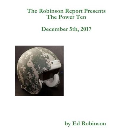 The Robinson Report Presents the Power Ten December 5th, 2017 - - Fifth Harmony Halloween 2017