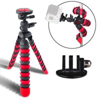 "Acuvar 12"" Inch Flexible Tripod w/ Wrapable Legs + Quick Release Plate Goes For All GoPro Hero Cameras + Tripod Mount"