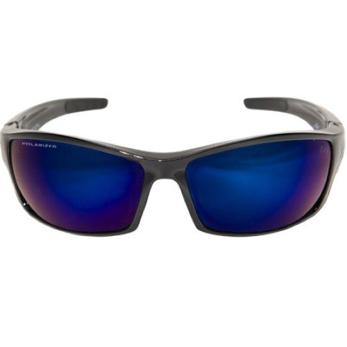 4c818997452 Edge Eyewear - Reclus Polarized Black Frame Sunglasses - Walmart.com