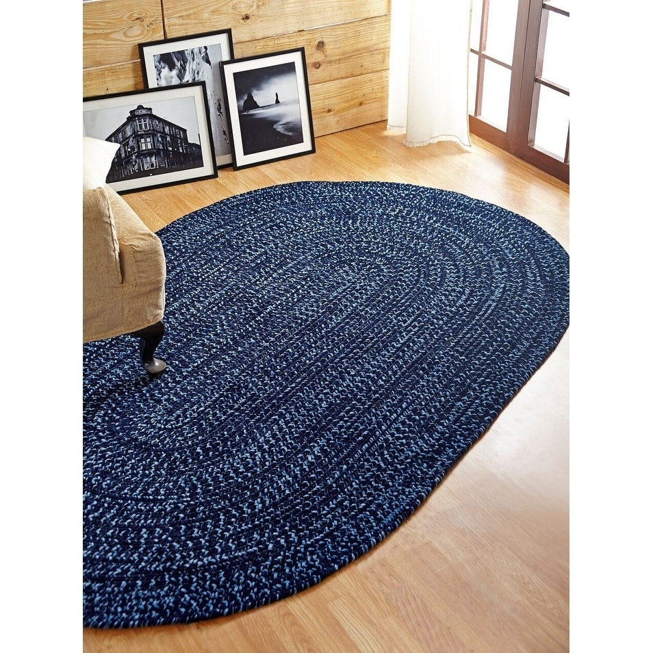 Chenille Revesible Braided Rug