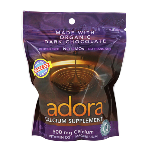 Adora calcium chocolate