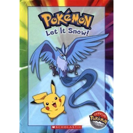 NEW - Pokemon: Let It Snow! (Official Pokemon Master's Club) Original Nonfiction Book. NEW - Pokemon: Let It Snow! (Official Pokemon Master's Club)>
