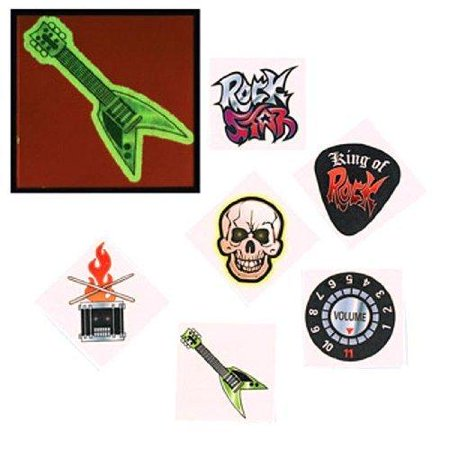 Glow In The Dark Rockstar Tattoos - Glow In Dark Tattoo