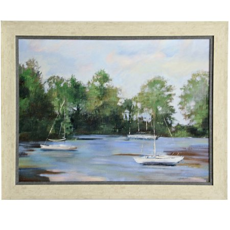Traditional Landscape - Framed Wall Art - Gel Coated - Ash Finish