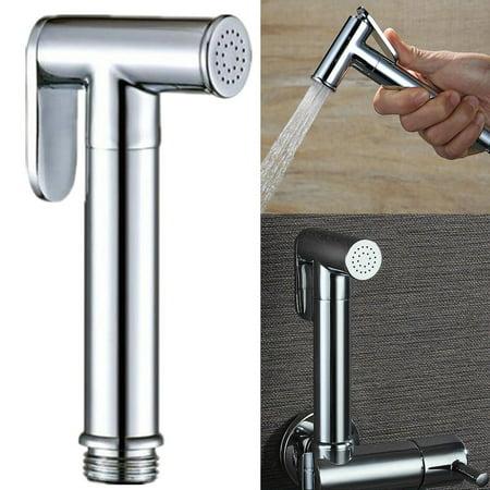 Bathroom Toilet Shower Bidet Sprayer Head Cloth Diaper Brass Handheld - Brass Handheld