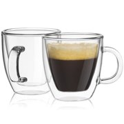 JoyJolt Savor Double Wall Insulated Espresso Cup (Set of 2)