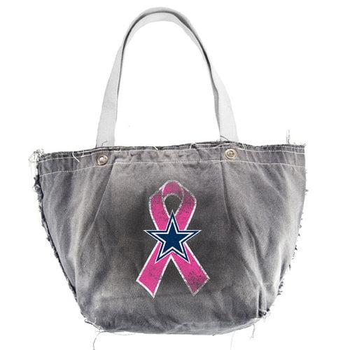 NFL - Dallas Cowboys Breast Cancer Awareness Black Vintage Tote