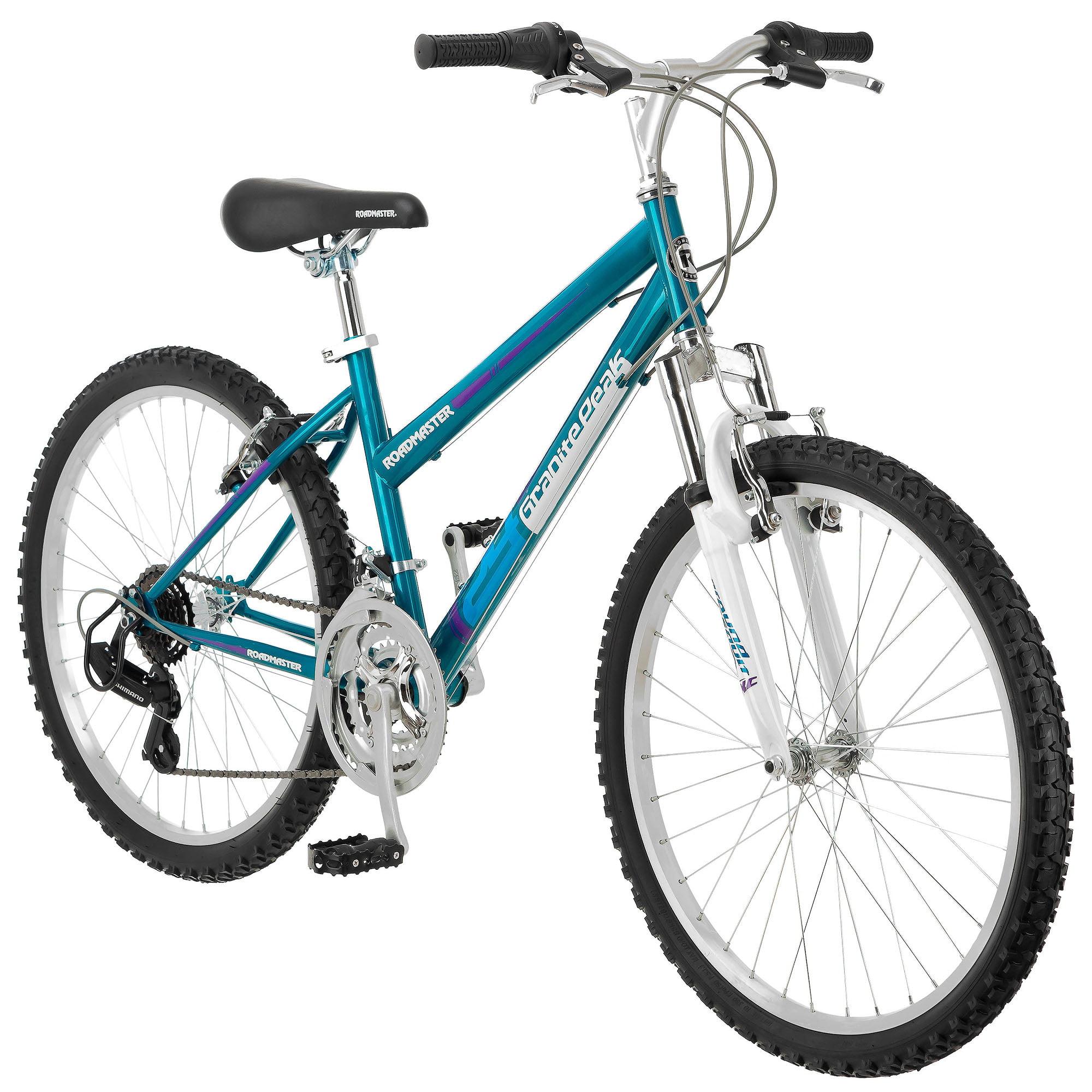 """24"""" Roadmaster Granite Peak Girls' Bike, Teal"""